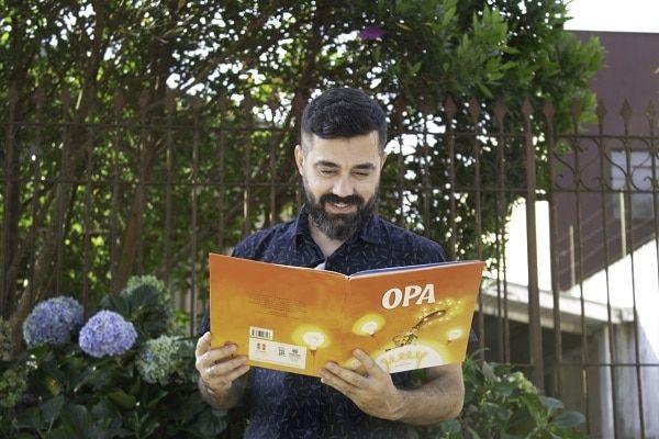 Lançamento do livro Opa
