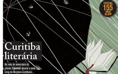 """Luiz Andrioli na reportagem """"Curitiba Literária"""""""