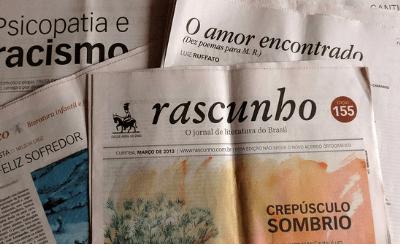 Jornal Rascunho resenha livro de Luiz Andrioli