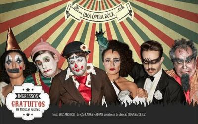 Circo dos Irmãos Queirolo inspira ópera rock