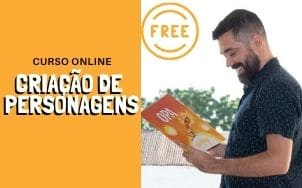 Aulas online de criação de personagens