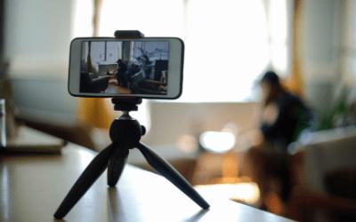 Como gravar videoaulas usando o celular
